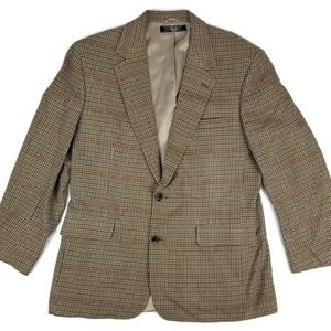 Brooks Brothers Wool Houndstooth Sport Coat Sz 41R